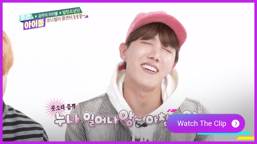 BTS Clip, BTS Weekly Idol, BTS subtitles
